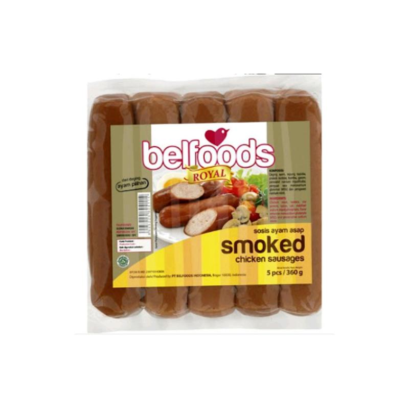 Belfoods Royal Sosis Ayam Asap 360g