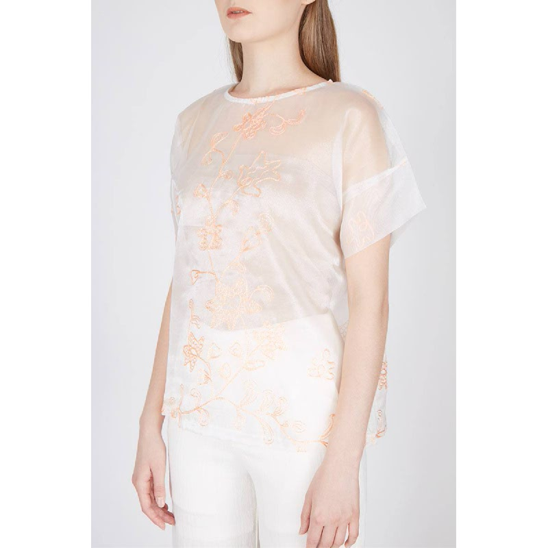 Rae A-line Blouse Pink