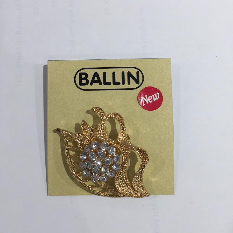 Ballin Women Brooch XP-BR121-3 Gold
