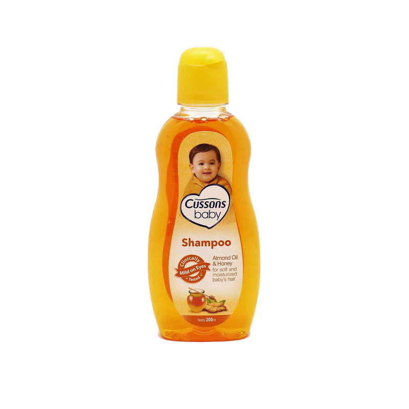 Cussons Baby Shampoo Almond Oil & Honey 200 Ml