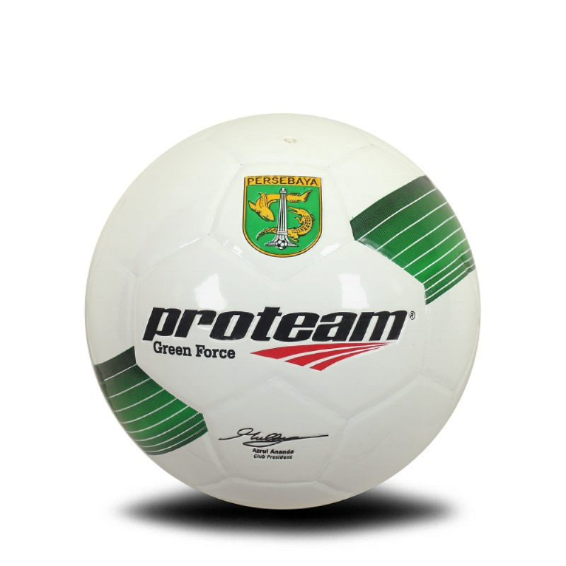 PROTEAM Bola Sepak Green Force Size 4