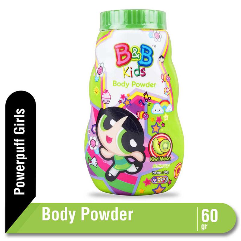 B&B Kids Body Powder Buttercup 60 G