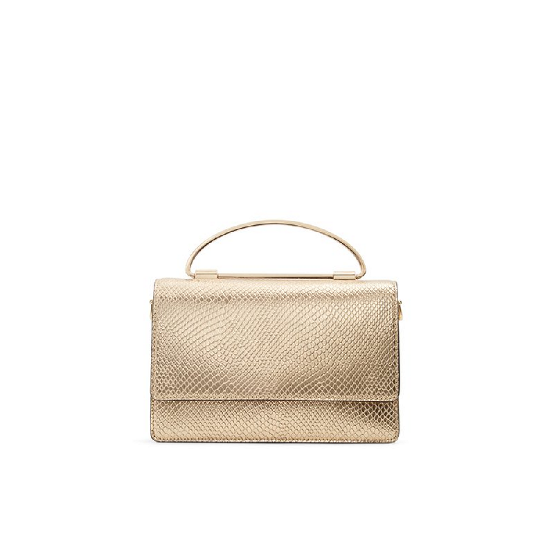 Aldo Ladies Handbags PIESSA-710 Gold