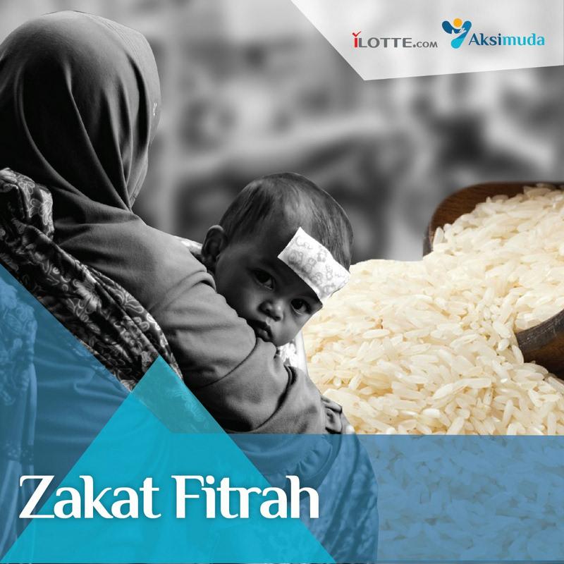 Aksimuda Zakat Fitrah Untuk Sesama