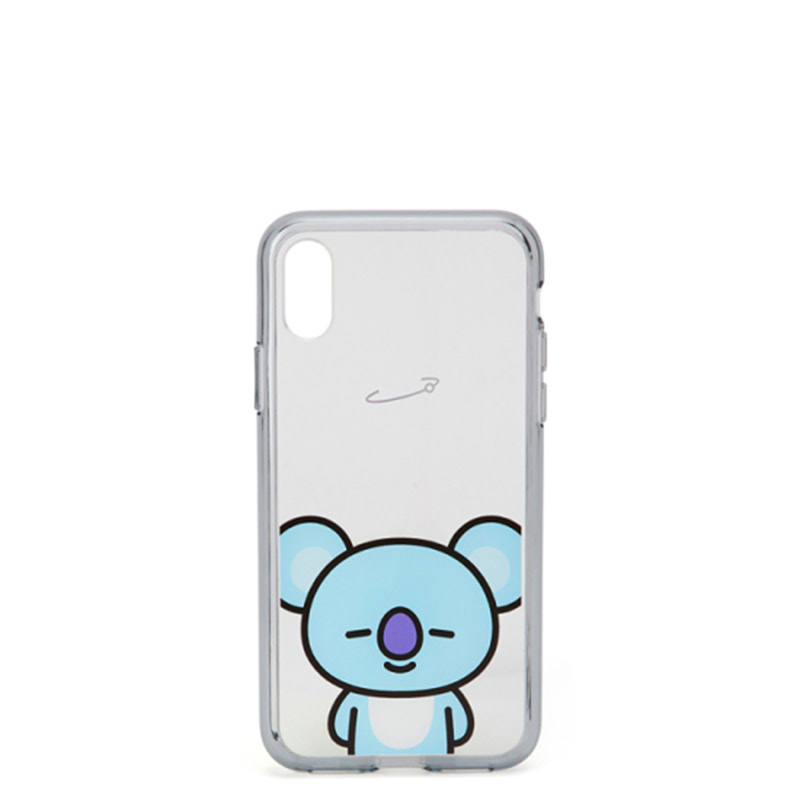 BT21 iPhone X Koya Clear Case