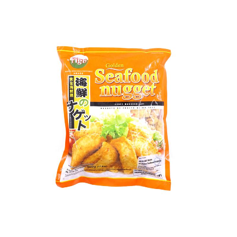 Figo Golden Seafood Nugget 500G