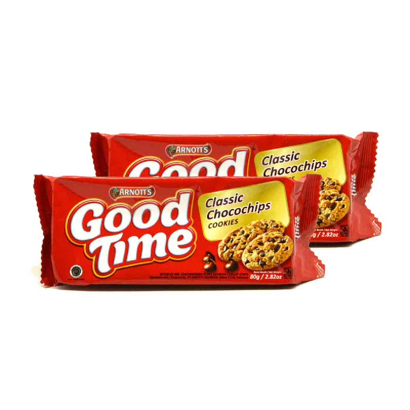 Good Time Precious Chocochips 84 Gr (Get 2)