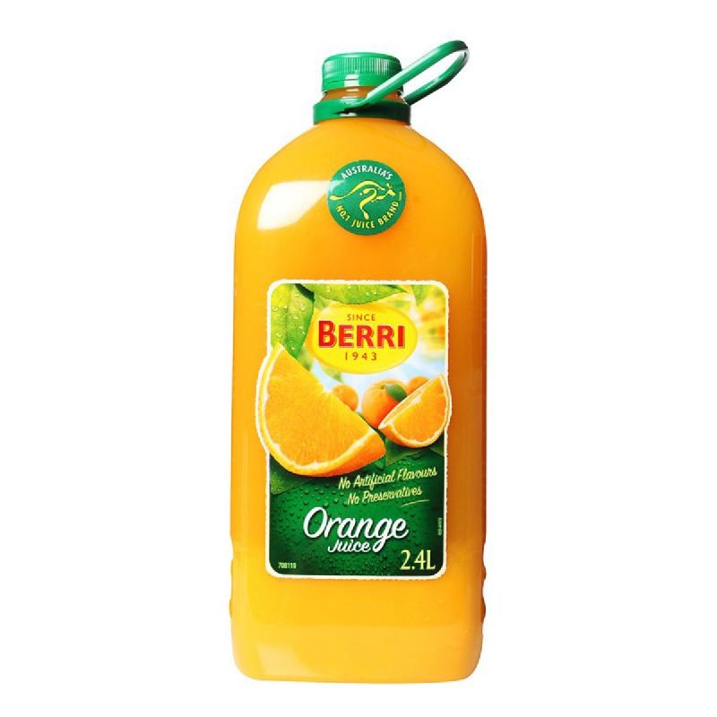 Berry Juice Orange Pet Botol 2400Ml
