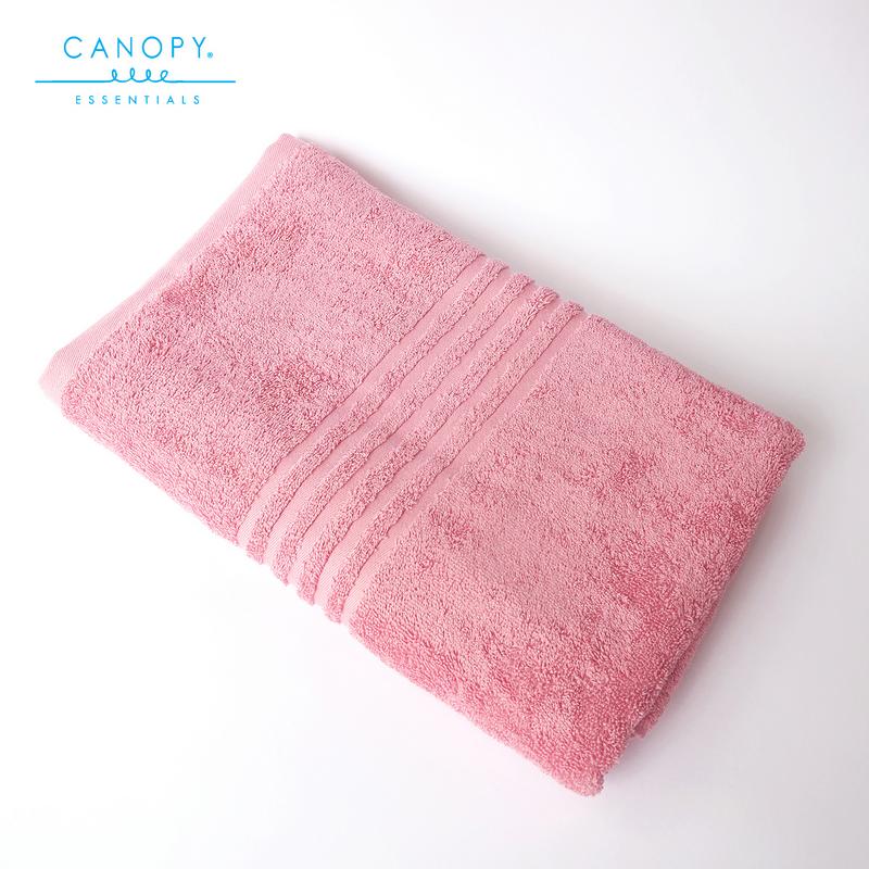 Handuk Mandi (Bath Towel) Canopy Essentials 100% Cotton - Pink (1pcs).