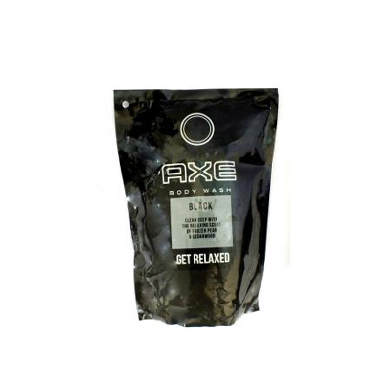 Axe Body Wash Black Reff 24X450Ml