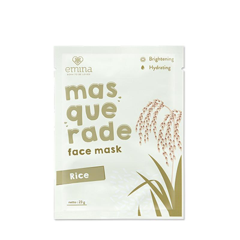 Emina Masruerade Face Mask Rice 23 Gr