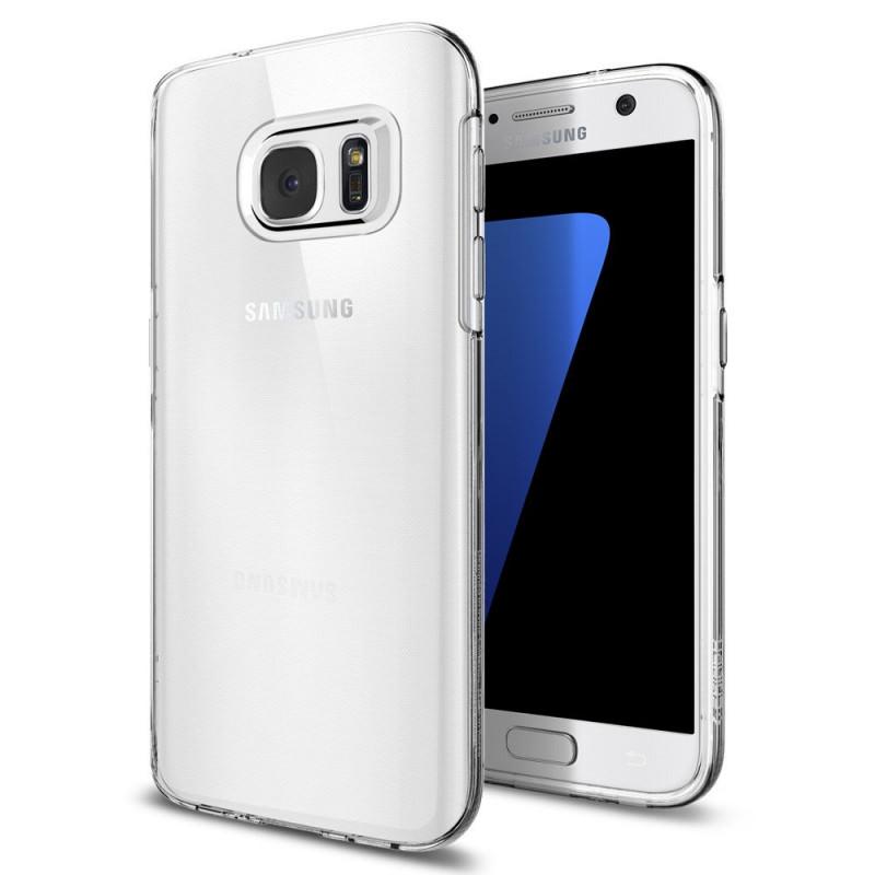 Spigen Case Liquid Crystal for Galaxy S7