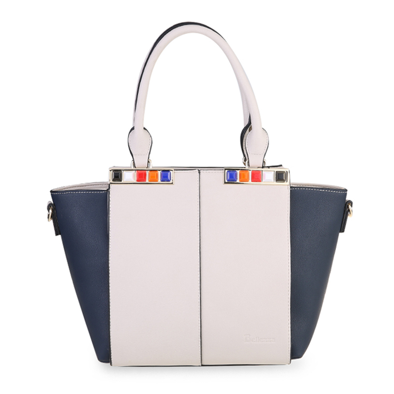 Bellezza Hand Bag YZ720252 Off White Comb