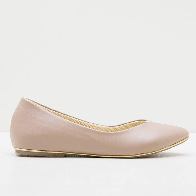 Alivelovearts Flat Shoes Loki Nude