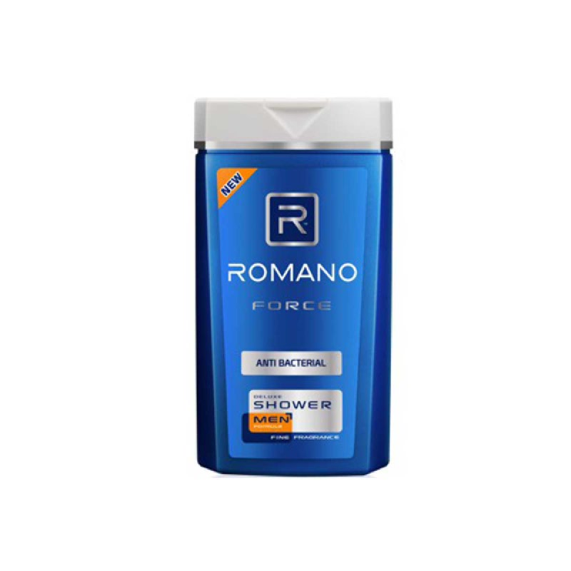 Romano Men Shower Force Anti Bacterial 200 Ml