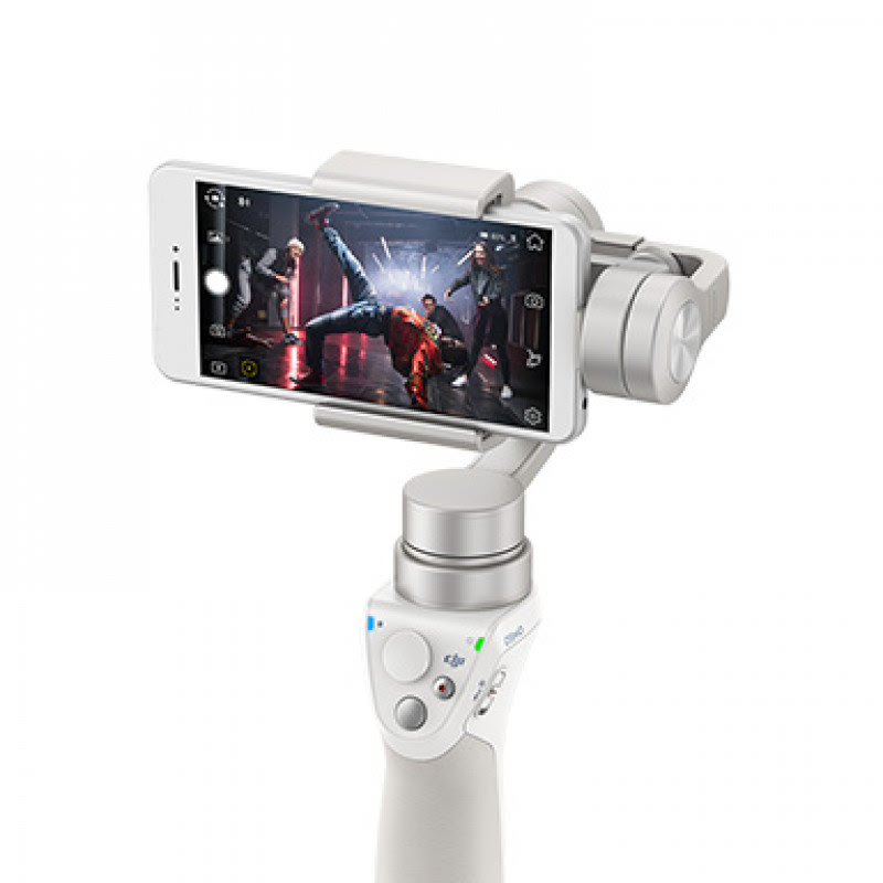 DJI Osmo Mobile Gimbal Stabilizer for Smartphone - Silver