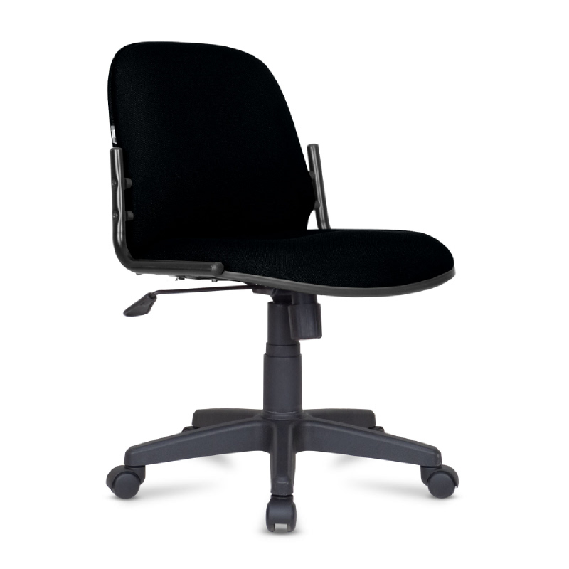 Kursi kantor (Kursi kerja) HP Series - HP03TT Black - PVC Leather