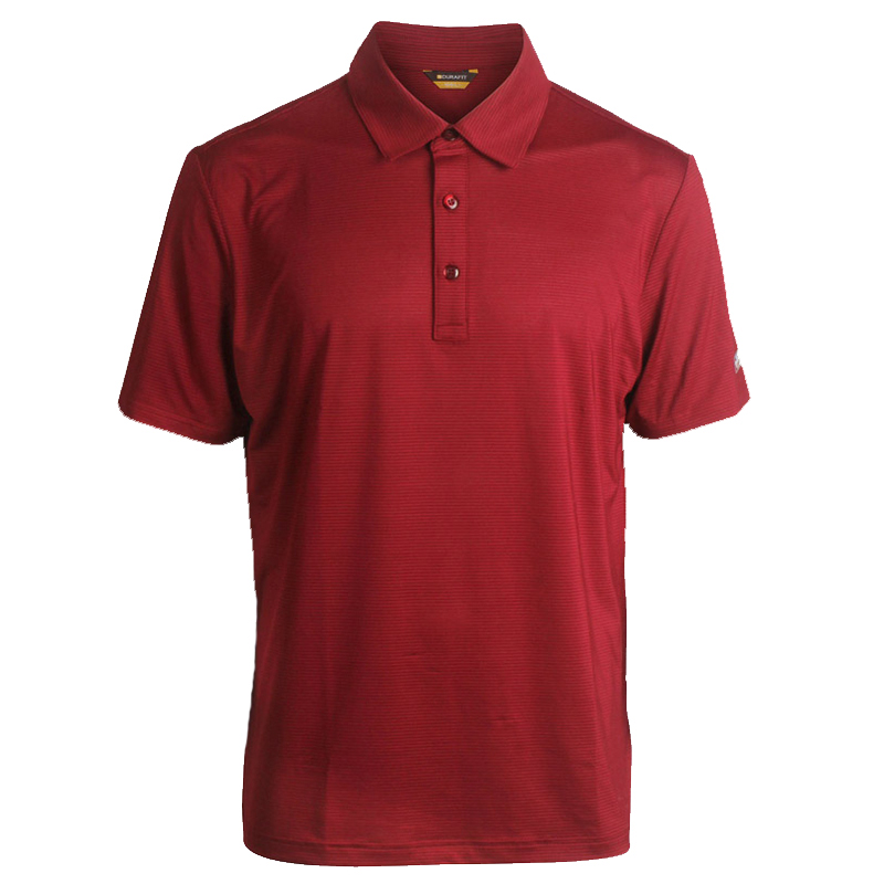 DURAFIT Short Sleeve Cool Lightweight Polo T-shirt Golf Wear DF-S102 - Wine