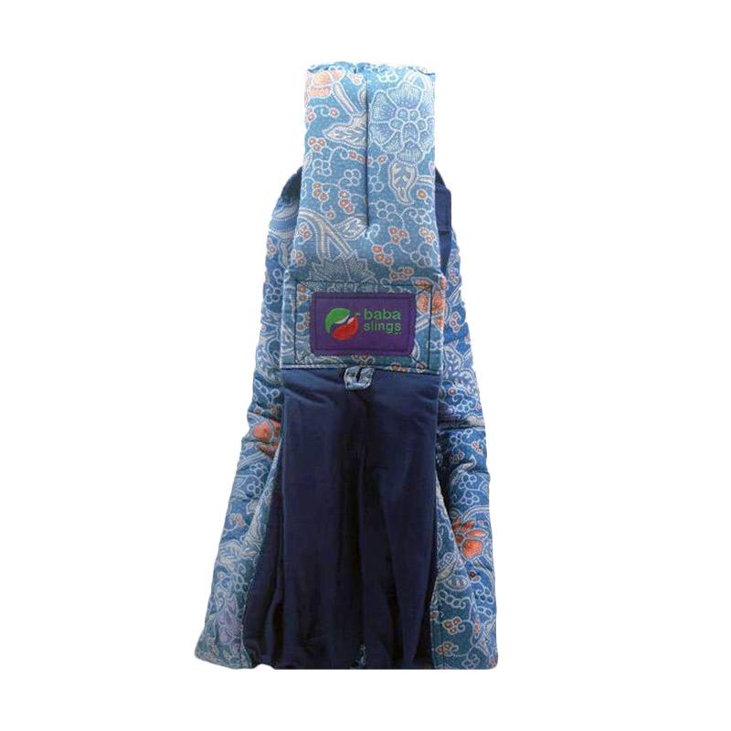 Baba Slings Blue Batik Gendongan Bayi