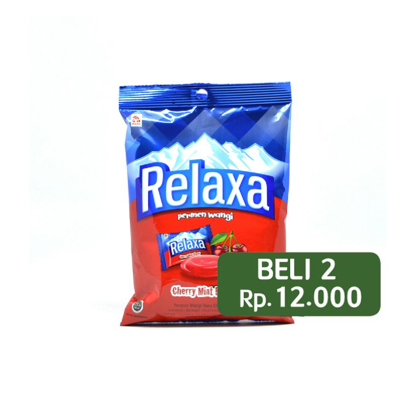 Relaxa Red Cherry Bag 125G (Beli 2 Rp.12.000)