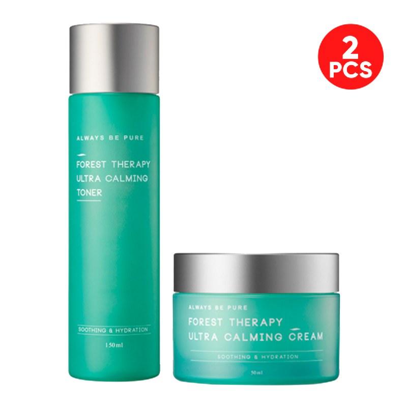 Always Be Pure Forest Therapy Ultra Calming Toner 150ml + Cream 50ml