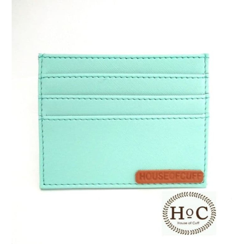 House Of Cuff Dompet Card Holder Wallet Turquoise - Turquoise