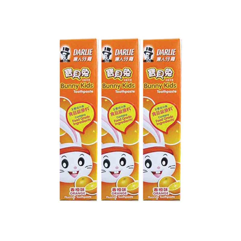 Darlie Pasta Gigi Bunny Kids Orange 40Gr (Buy 2 Get 1)