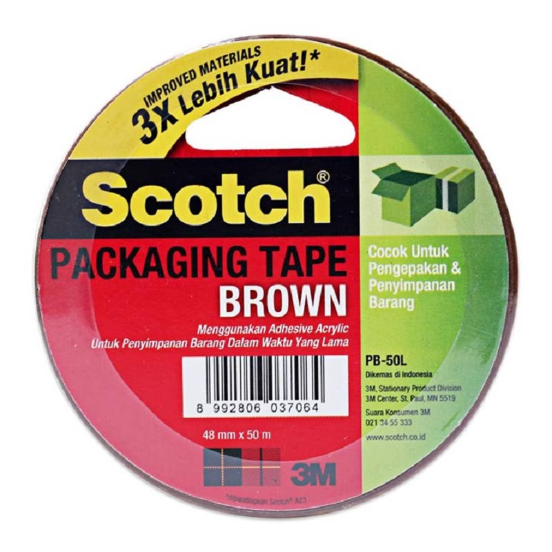 Packaging Tape Brown PB50L 48mm X 50mm