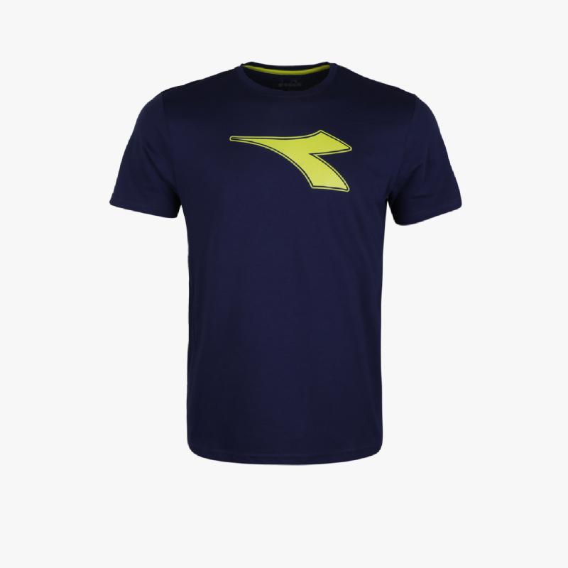 Diadora Gaston Y Men T-Shirts Navy