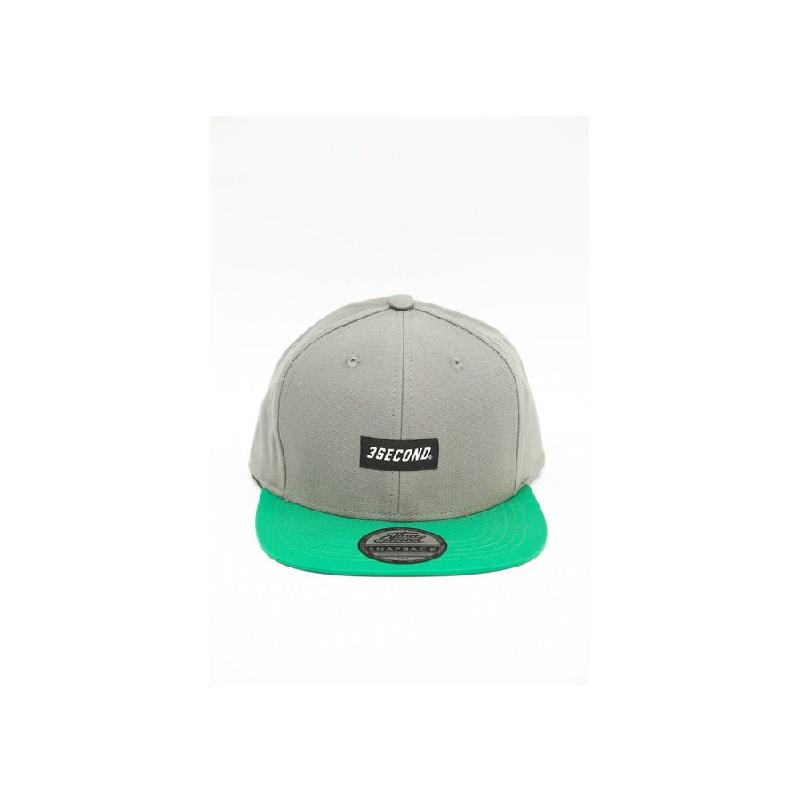 3Second Men Hat 0105 Grey