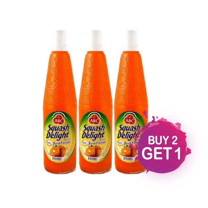 Abc Squash Sirup Mangga Botol 460 Ml (Buy 2 Get 1)