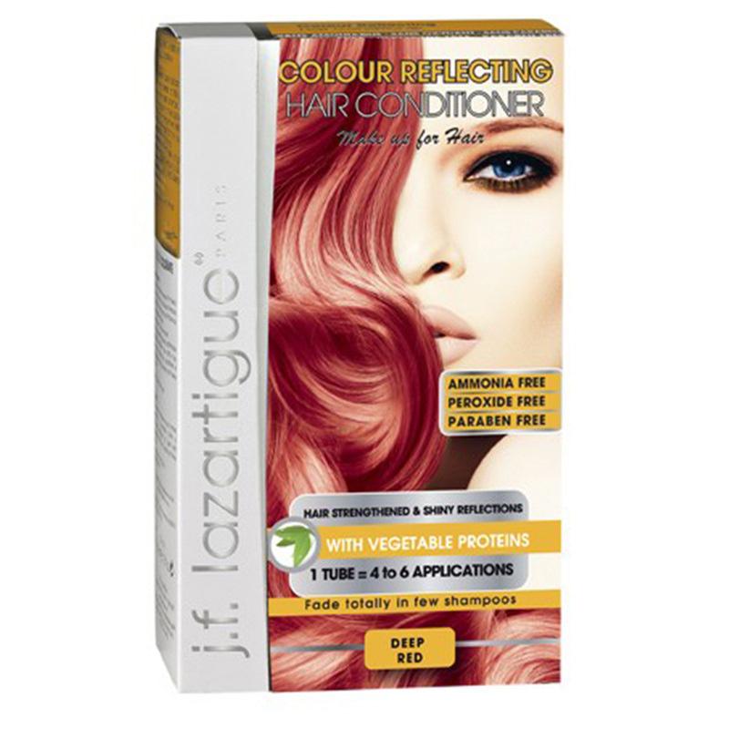 J.F LAZARTIGUE Colour Reflecting Hair Conditioner Deep Red