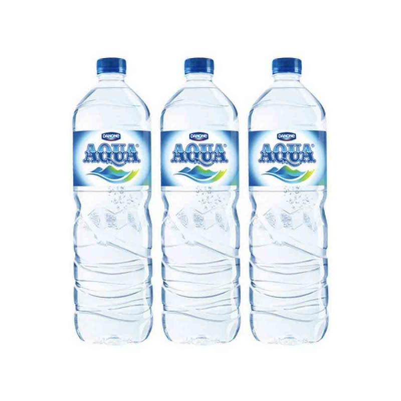 Aqua Mineral Water 1500 Ml (Buy 2 Get 1)