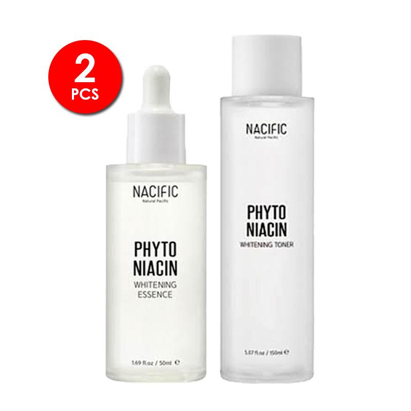 Nacific Whitening First Treatment Set (Toner + Essence)