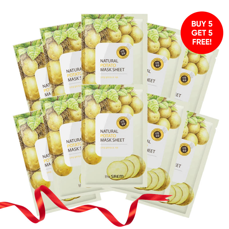 The Saem (5+5) Natural Mask Sheet - Potato+Potato