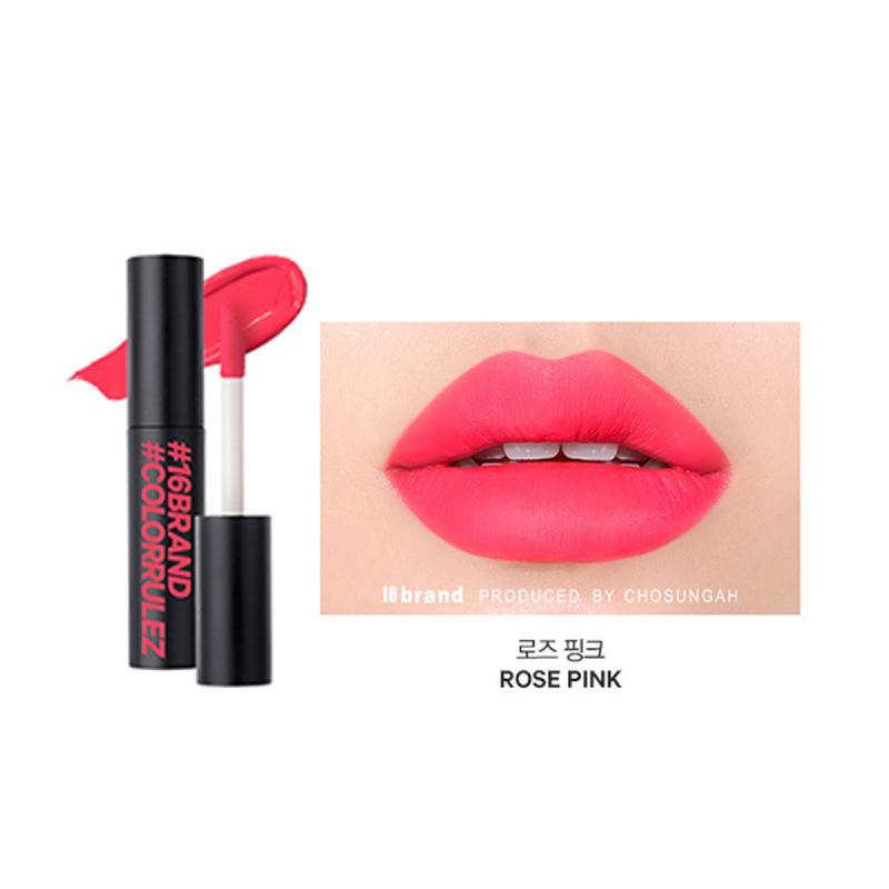 16brand Sixteen Colorrulez Velvet Lip - Rose Pink
