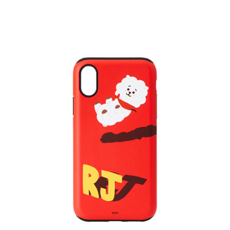 BT21 iPhone X RJ Bumper Case