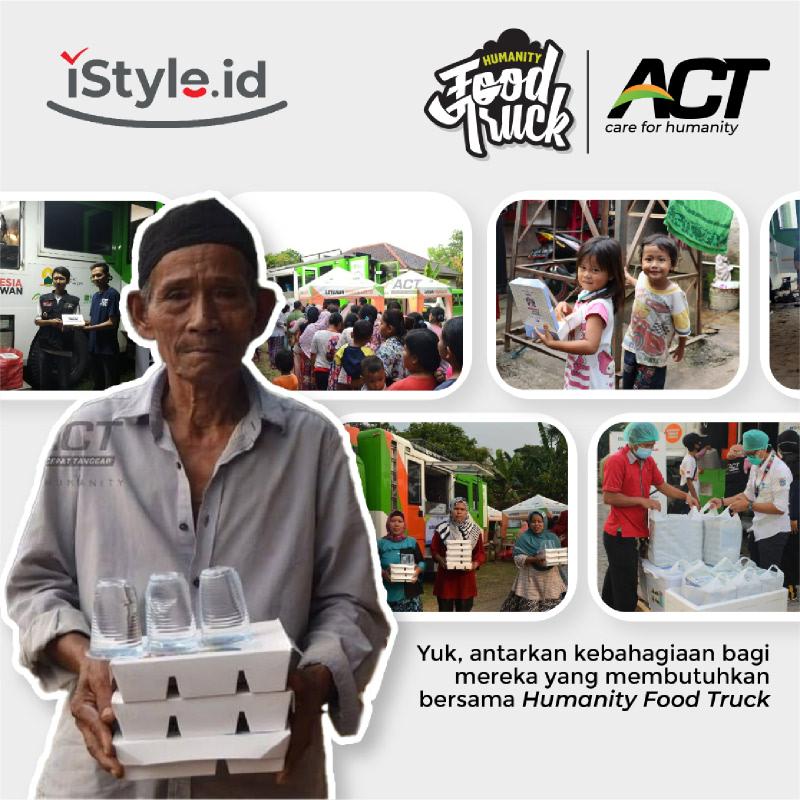 ACT - Layanan Makan Gratis melalui Food Truck 100K