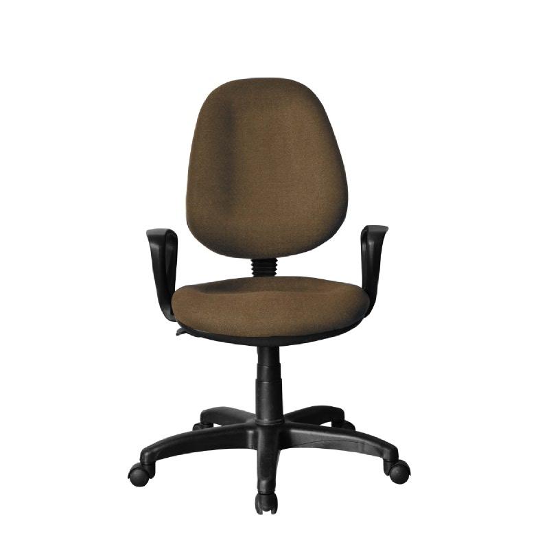 HighPoint Kursi kerja kursi kantor BK Series - BK26 Gazelle Brown