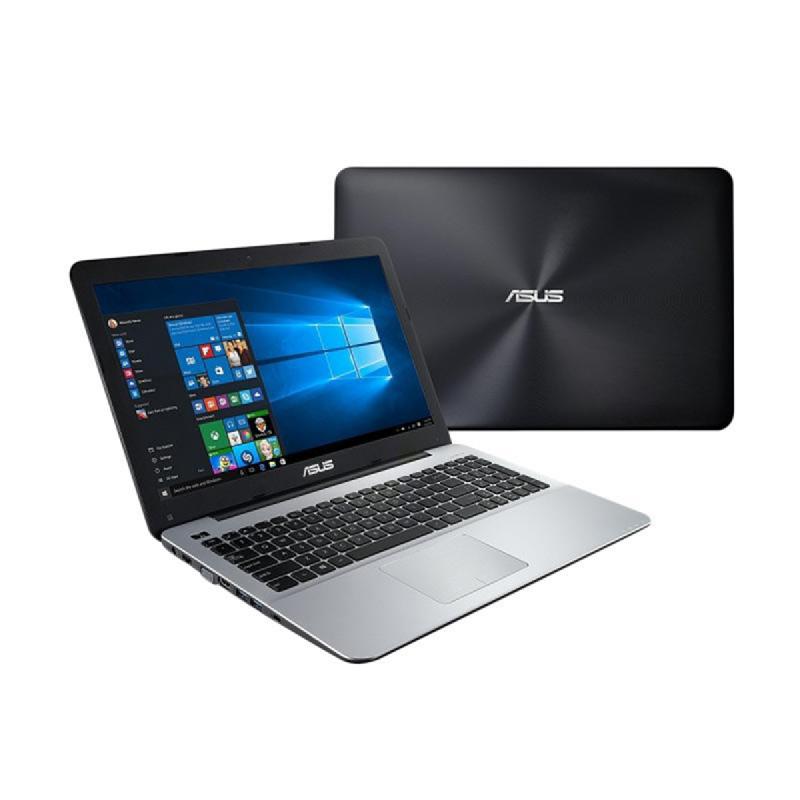 Asus X555QG-BX121D AMD Quad Core A12-9700P 2.5 GH,RAM 8GB,1TB,DOS,Hitam