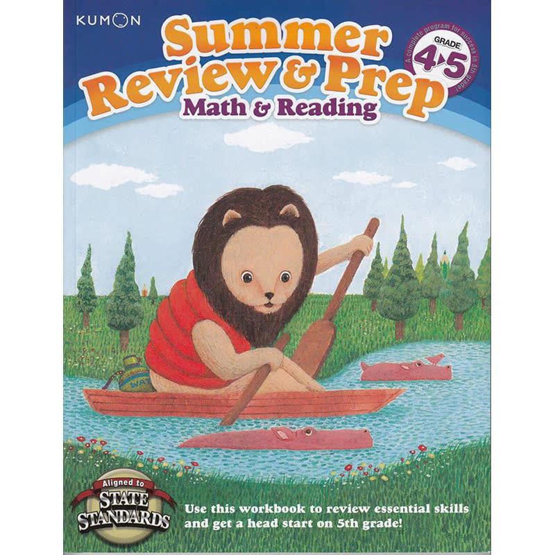 Kumon Kumon Summer Review & Prep Workbooks 4-5