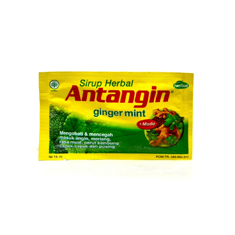 Antangin Syrup Ginger Mint