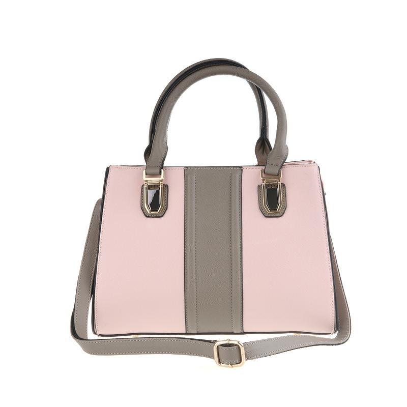 Bellezza Hand Bag 61481-01 Light Pink Khaki