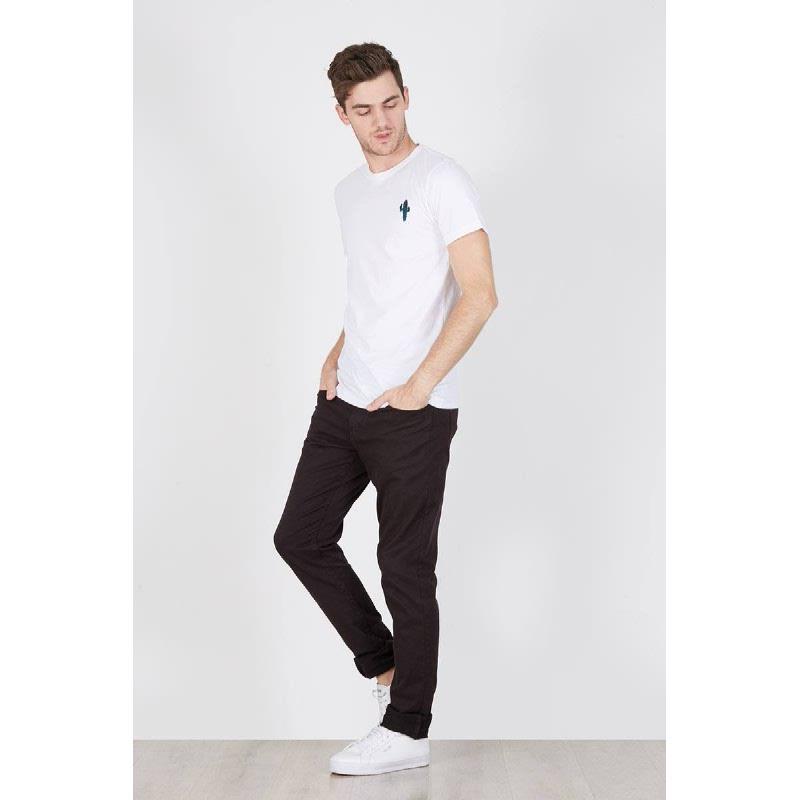 Men Cactus Tshirt White