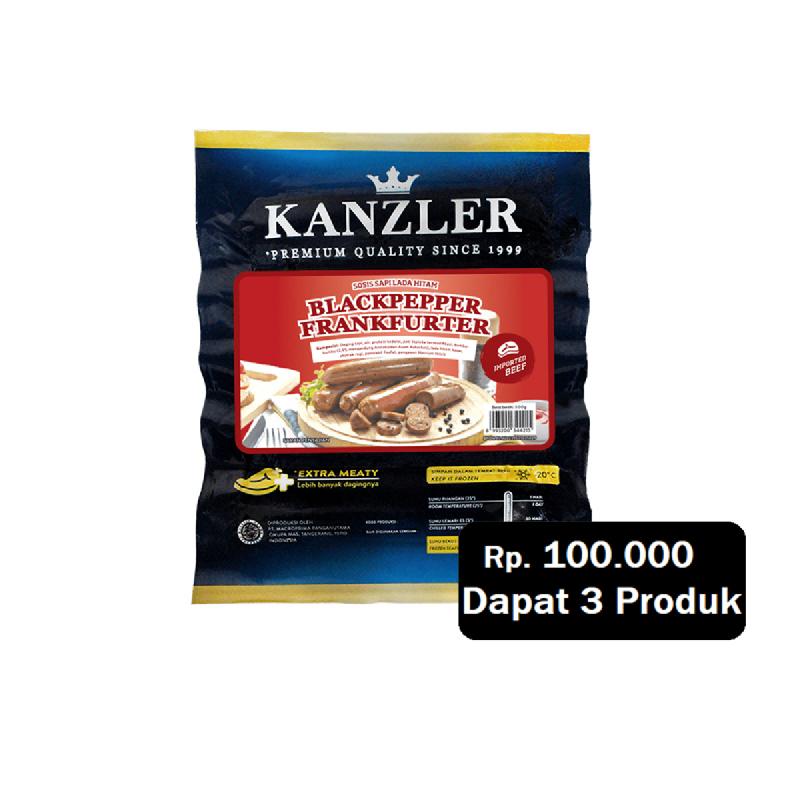 Kanzler Black Peppr Frank 300G (Rp. 100.000 Dapat 3)
