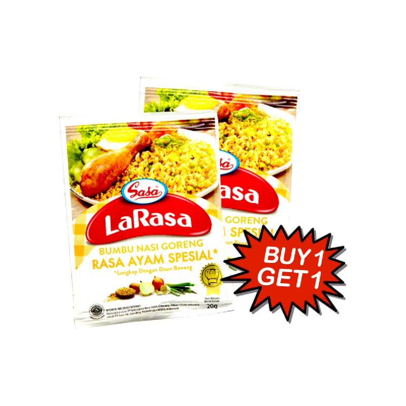 Larasa Nasi Goreng Ayam Special 20 Gr (Buy 1 Get 1)