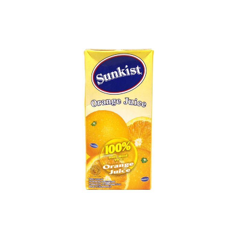 Sunkist Orange 1000 Ml