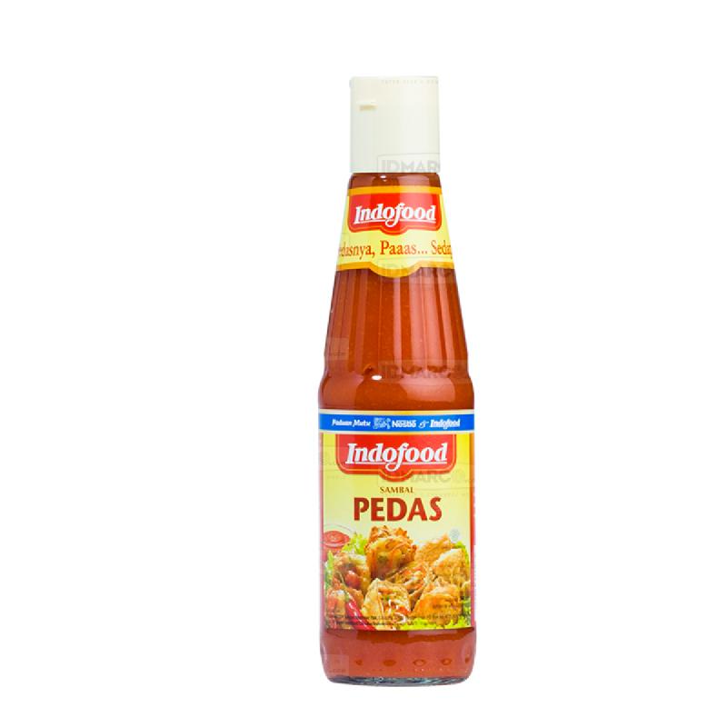 Sambal Indofood Pedas Botol 340 ml
