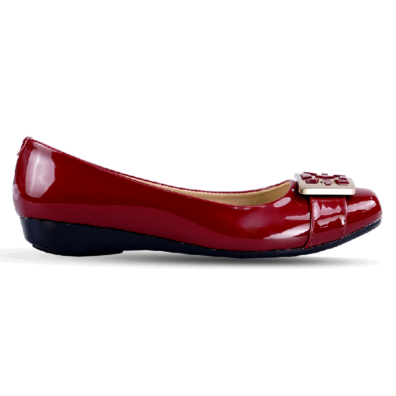 Ghirardelli Flats Belle Maroon