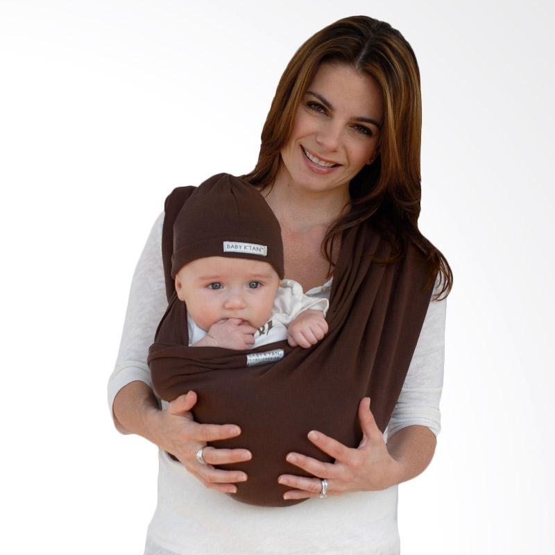 Baby K'Tan Basic Warm Cocoa Gendongan Bayi [Size L]
